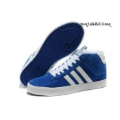 Bleu Blanc Adidas Neo Homme Bbneo ST Souliers Daily Warm