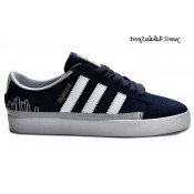 Bleu marine Blanc Silver Metallic Gold Adidas Originals Rayado Faible Chaussures