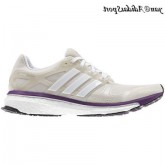 Gris perle Blanc Pearl Metallic Purple Adidas Boost Energy 2 Femme de Chaussures de course