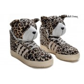 Leopard Adidas Originals by Jeremy Scott JS parent-enfant Chaussures