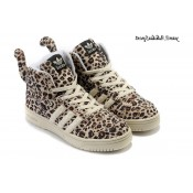 Leopard Tail Adidas Originals x Jeremy Scott Chaussures