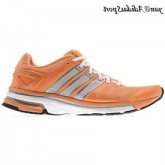 Luminescent Orange Pearl Metallic Tech Grey Metallic Adidas Adistar Boost Femme Chaussures de course