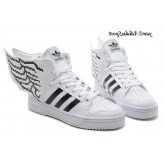 Mosaque Conception Blanc Noir Jeremy Scott x Adidas Originals Ailes JS