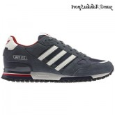 New Navy plomb Chalk Adidas Originals ZX 750 Homme Chaussures de course