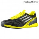 Noir Blanc Vivid Yellow Adidas adizero Feather II Climacool Homme Chaussures de course