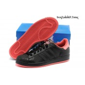Noir Orange Rose Adidas Originals Superstar Lovers Chaussures