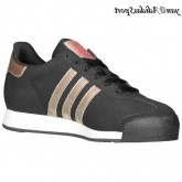 Noir Tech Gold Metallic Ultra Pop Adidas Originals Samoa Femme Nubuck Chaussures