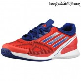 Salut-Res Rouge Hero encre blanche Adidas adizero Feather II Climacool Homme Chaussures de course