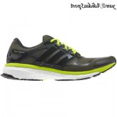 Shade Green Earth Nuit solaire Slime Adidas Boost Energy deux Homme Chaussures de course