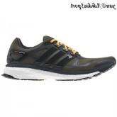 Shade Green Earth Nuit solaire Zest Adidas Boost Energy deux Homme Chaussures de course