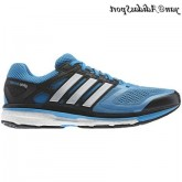 Solaire Blue Tech Grey Met Adidas Supernova Glide Boost Chaussures de course Homme