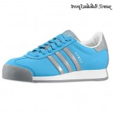 Turquoise Tech Gris Blanc Adidas Originals Samoa Chaussures Homme Casual