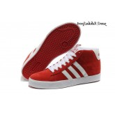 Université Rouge Blanc Adidas Neo Homme Bbneo ST Souliers Daily Warm
