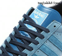 Blue Ink Brown Gold Metallic - Adidas Originals Gazelle OG Chaussures Hommes