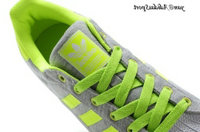 Gris Neon vert blanc - Adidas Originals Superstar II Lovers flanelle Chaussures