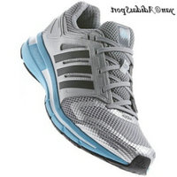 Mid Grey Black Silver Metallic - Adidas Revenergy Boost Femmes Chaussures de course