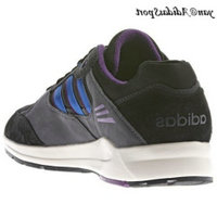 Noir Bluebird carbone Violet - Adidas Originals Tech super Hommes formateurs