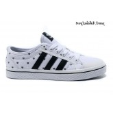 Blanc Noir Adidas Originals Honey Basse coeurs Femme Glow The Dark Chaussures