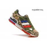 Camouflage Army Green Adidas Originals ZX 750 2014 Limited Edition Homme Chaussures de course