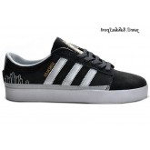 Carbon Silver Metallic or blanc Adidas Originals Rayado Faible Chaussures