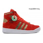 China Red Gold Adidas Originals Décennie OG mi Cny Année du serpent 2013 Chaussures
