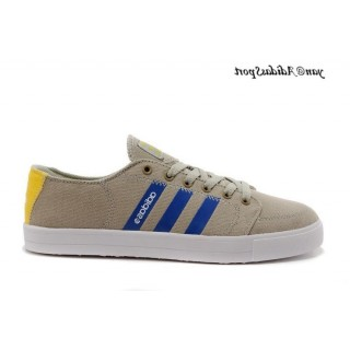 Detective Gris Bleu Bright Yellow Adidas Homme Vlneo Bball Lo Neo Lifestyle Chaussures