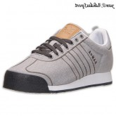 Gris ardoise Chambray Adidas Originals Samoa Homme toile Souliers