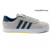 Light Blue Slategray Navy Bright Yellow Adidas SE Daily Vulc Chaussures Homme Lifestyle