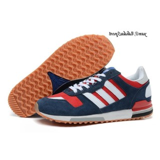 Marine Rouge Blanc Adidas Originals Zx 700 Chaussures unisexes
