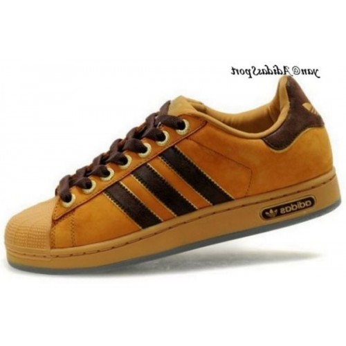 Marron Foncé Coffee Adidas Originals Superstar 25 Chaussures