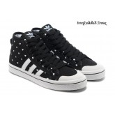 Noir Blanc Adidas Originals Honey Mid W coeurs Femme Glow The Dark Chaussures
