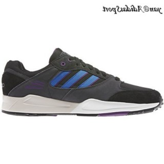 Noir Bluebird carbone Violet Adidas Originals Tech super Homme formateurs