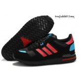Noir Deep Red Skyblue Adidas Originals ZX 700 Star Wars Darth Vader Lovers Chaussures