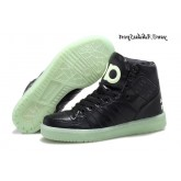 Noir Lightgreen Adidas Originals Jeremy Scott Dark Knight Glow The Dark