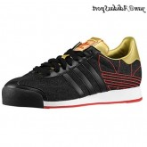 Noir mat or rouge Adidas Originals Samoa Chaussures Homme Casual