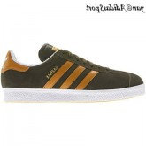 Oak orange Beauté Blanc Metallic Gold Adidas Originals Gazelle 2.0 Chaussures Homme