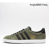 St Major Vert Noir Bluebird Gold Metallic Adidas Originals Gazelle OG Chaussures Homme